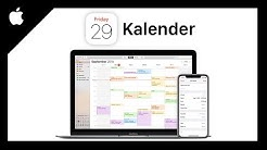 Apple Kalender (Das Große Tutorial) Apple Life Tutorial Serie (Episode 5)
