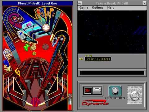 Take a Break! Pinball (Dynamix) (Windows 3.x) [1993]