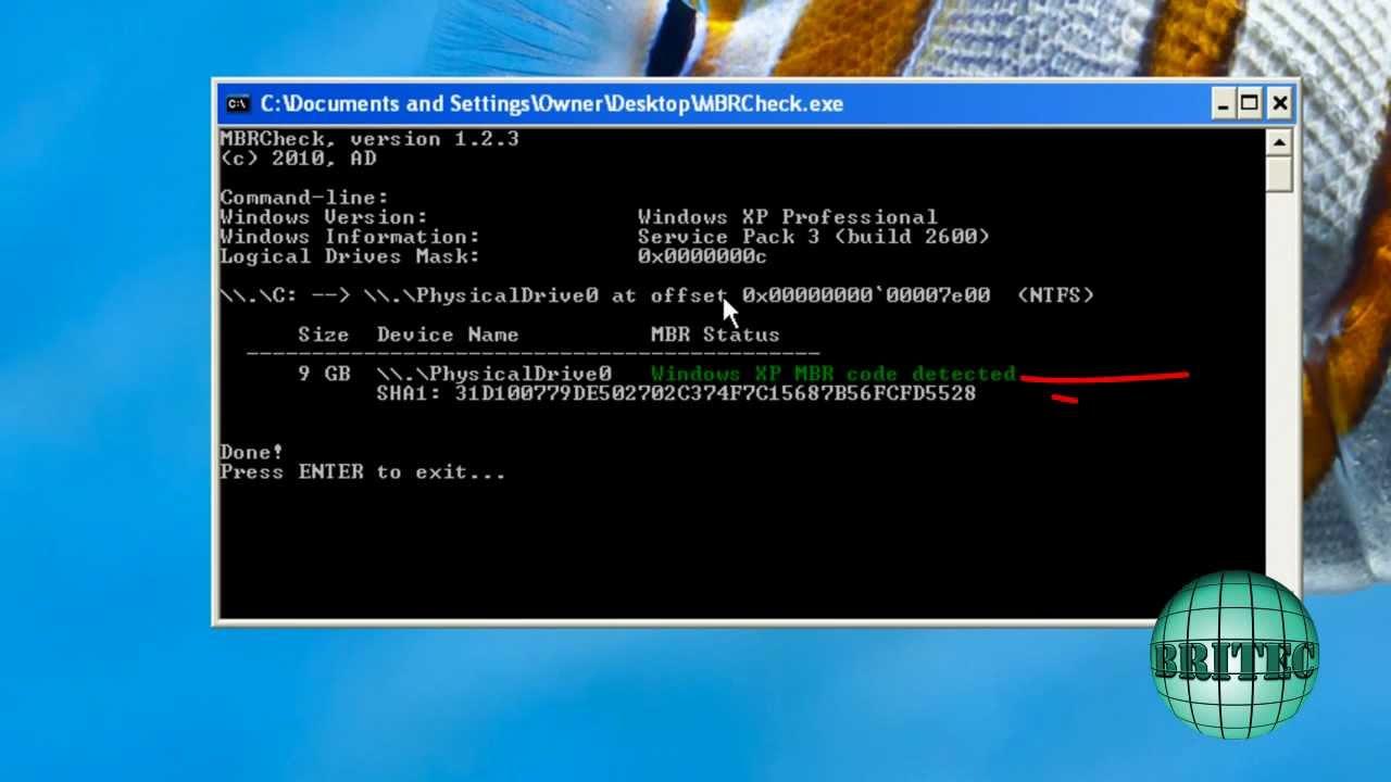 Remove Whisler, Mebroot, Sinowal Bootkit Virus Phishing Trojan by