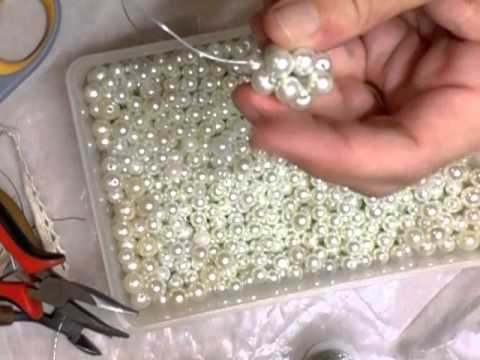 How to make a pearl beaded bead Tutorial