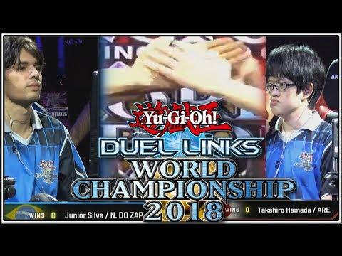 2018 Yu-Gi-Oh! Duel Links World Championship Final Takahiro Hamada V Junior Silva | YTDan Duel Links