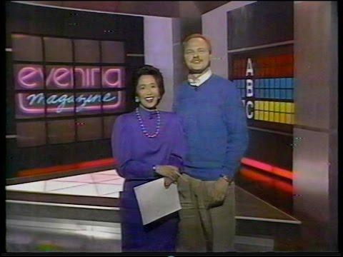 Evening Magazine, KPIX-TV, w/Jan Yanehiro & Richard Hart, Feb. 17, 1989
