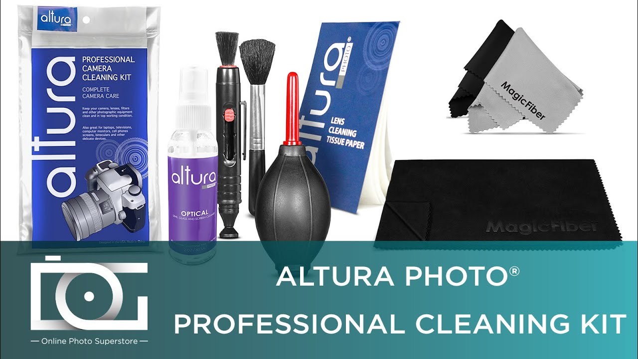 Cleaning Kit For Digital Cameras Altura Photo Youtube