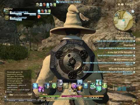 Final Fantasy XIV FFXIV AST Astrologian Ireland Eire Gridanian Star Globe 22.09.16
