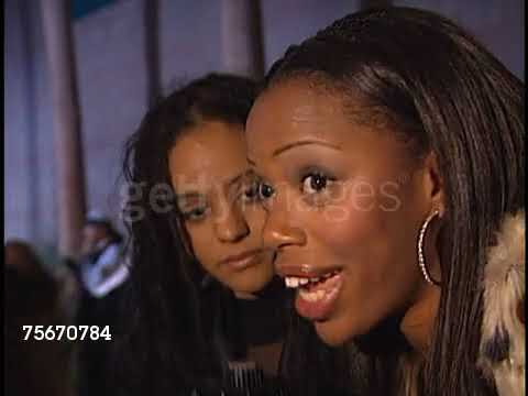 2000 Billboard awards backstage  Persia White & Jill Marie Jones