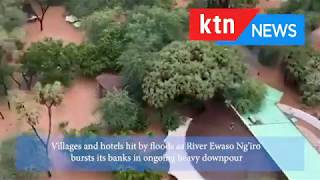 Villages and Hotels in Samburu and Isiolo marooned by floods as River Ewaso Ng\'iro bursts its banks