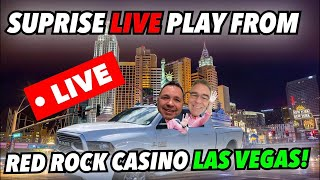 🚨LIVE Red Rock Casino Slot Play!  Surprise!