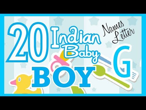 20 Indian Baby Boy Name Start with G, Hindu Baby Boy Names, Indian Name for Boys, Hindu Boy Names