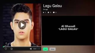 Al Ghazali - Lagu Galau (Karaoke)