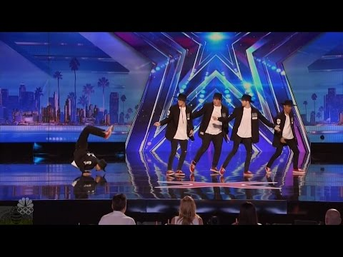 Americas Got Talent 2016 Outlawz Dance Group Has Some New Moves Full Audition Clip S11E06