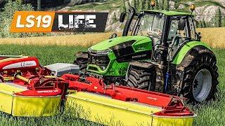 LS19 LIFE #5: Verhandlungen um STROH mit dem Nachbarn | FARMING SIMULATOR 19