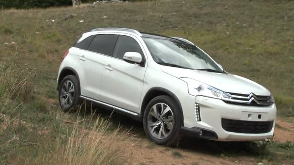 test citroen c4 aircross roccaraso 1 2 settembre 2012 youtube. Black Bedroom Furniture Sets. Home Design Ideas