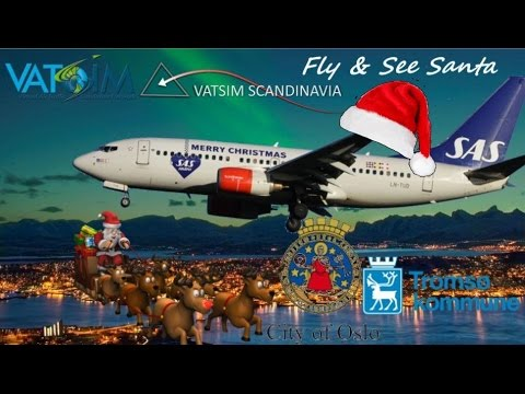 Fly & See Santa - Vatsim Scandinavia + PMDG 737-700