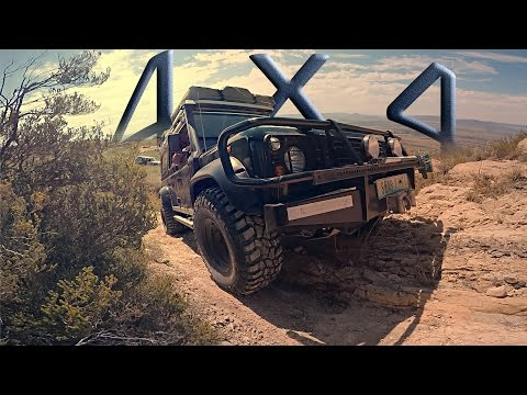 LAND ROVER DEFENDER - OFF ROAD 4x4 AT IT'S BEST! (HD)