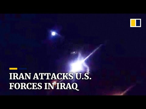 Iran launches missiles targeting US military in Iraq in revenge attack