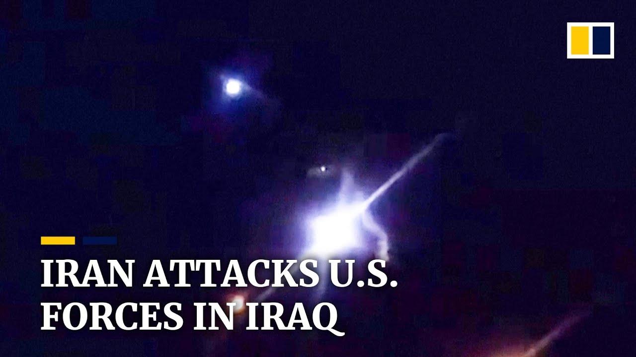 Risultati immagini per iran attack us force in iraq