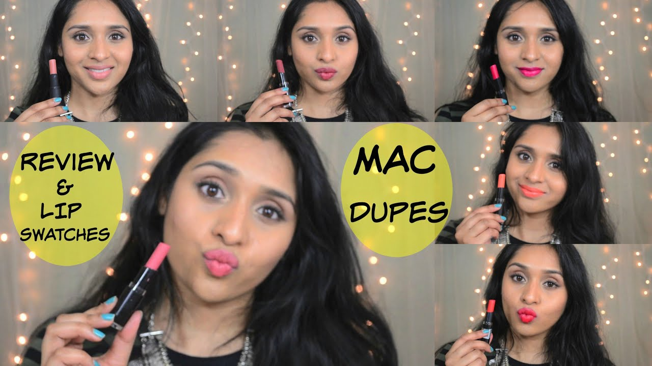 Wet n Wild Mega Last Lipsticks Review/Swatches / MAC Lipstick Dupe
