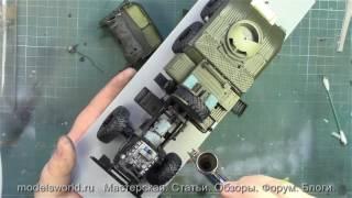Мастер-Класс по сборке BM-21 Grad от TRUMPETER. Часть 65