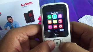 lava captain k2 white+grey unboxing (2018)