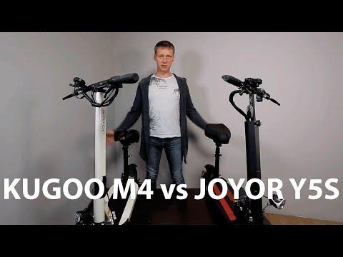 Разбор электросамокатов Joyor Y5S и Kugoo M4