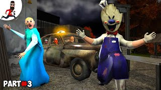 THE STORY of GRANNY ELSA ICE SCREAM 2 MR MEAT EVIL NUN   Funny Animation by Abegi JO  Part 28