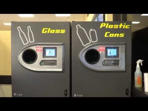 TOMRA T-53 Recycling (Reverse Vending) Machine @ Hannaford (Lancaster Street, Leominster, MA)