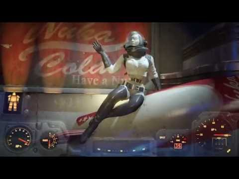 Fallout 4 - Riding the Nuka Galaxy and medallion location