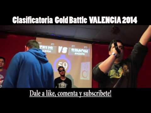Simon VS Zeus 16avos GOLD BATTLE VALENCIA 2014