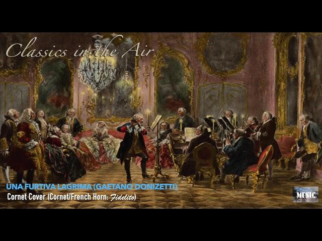 Una Furtiva Lagrima (Gaetano Donizetti) - Cornet Cover