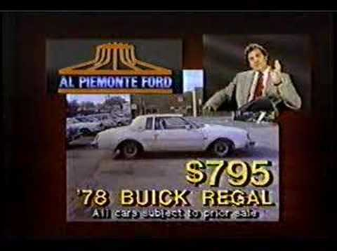 al piemonte ford commercial 1986 youtube. Black Bedroom Furniture Sets. Home Design Ideas