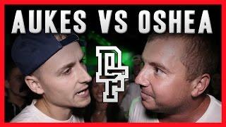 AUKES VS OSHEA   Don't Flop Rap Battle