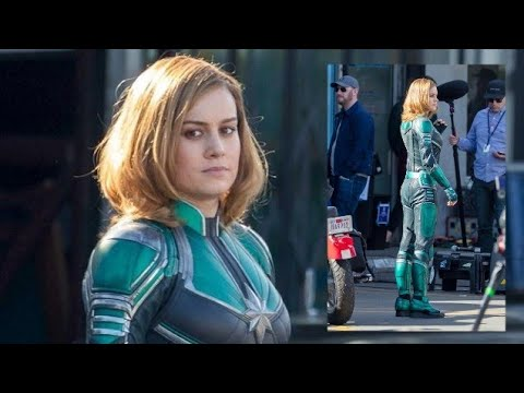 Brie Larson In The Captain Marvel Costume Looks Like Youtube That leaves captain marvel, a movie that was announced years ago. brie larson in the captain marvel costume looks like
