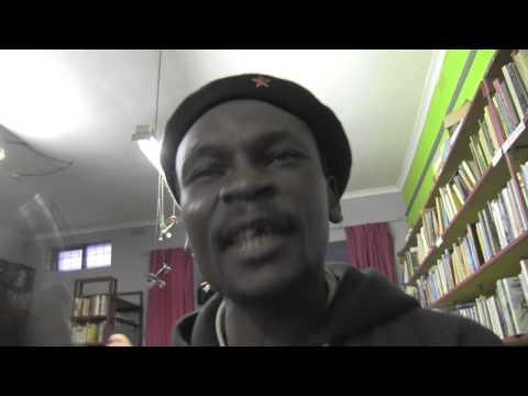Biko 'Ballistic' in Bolo'Bolo Bookstore