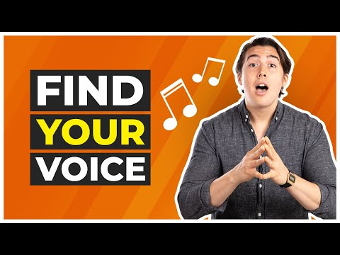 How to Find Your Natural Singing Voice - 5 Easy Steps