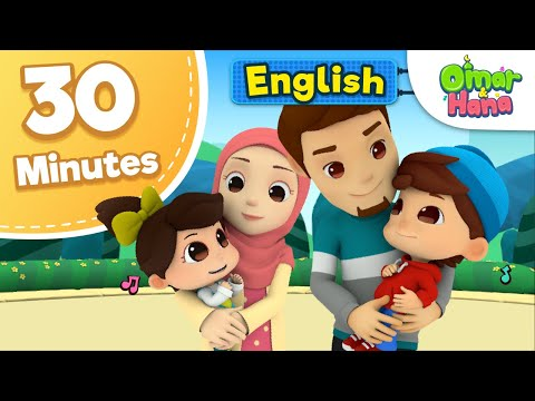 Omar & Hana | 30 Minutes Compilation | Islamic Cartoons For Kids