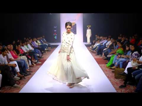 Bangalore Fashion Week WinterFestive  2016 Purvi Doshi (Rhythms of Desert)