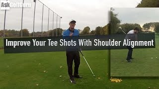 Improve Your Tee Shots With Shoulder Alignment