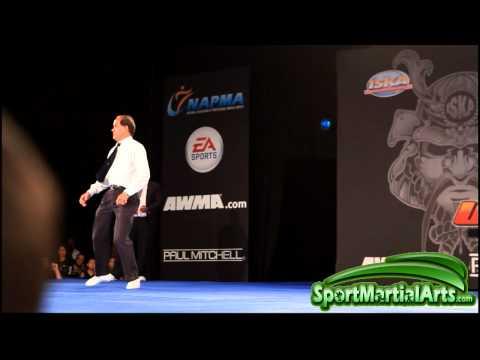 US Open 2012 - Sheckema Cunningham.. v Anna Serrano - ISKA Night of Champions