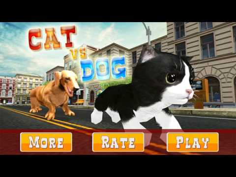 Dog vs Cat Survival Fight Game - Gameplay HD