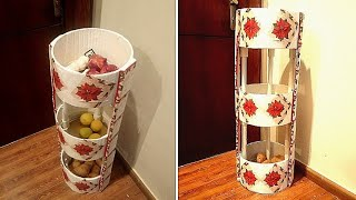 How To Make Kitchen Organisation Shelf / Vegetables Basket: