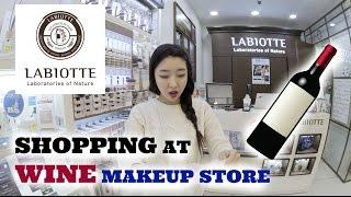 SHOPPING AT LABIOTTE | KOREAN WINE MAKEUP STORE