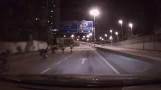中國報:悲!新山凌晨騎腳車被撞