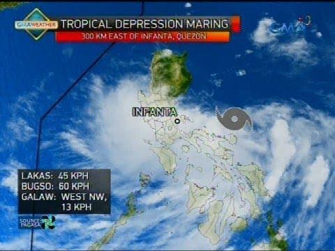 24 Oras: Dalawang bagyo sa PAR, magpapaulan sa Luzon simula bukas