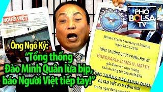 """Ông Ngô Kỷ: """"Tổng thống Đào Minh Quân lừa bịp, báo Người Việt tiếp tay!"""""""