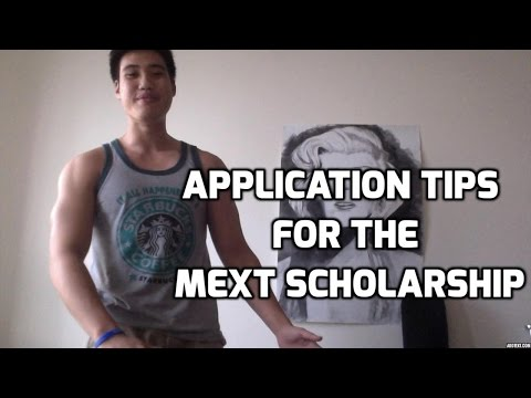 Application Tips for the MEXT Scholarship