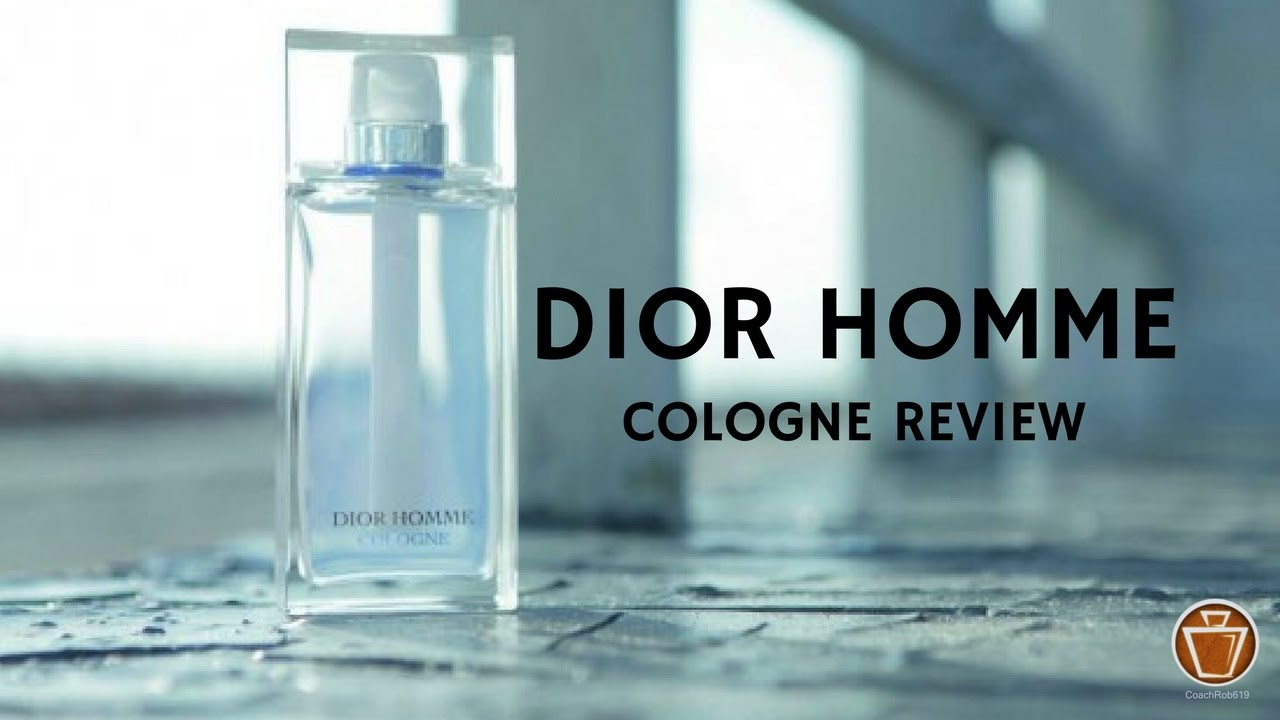 Dior homme fragrance review
