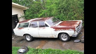 1966 Fairlane 500 station wagon project