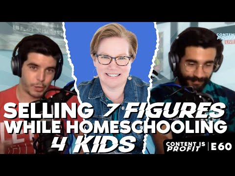 Rhonda Melogy:  Selling 7 Figures While Homeschooling 4 Kids - CONTENT IS PROFIT EP. #60