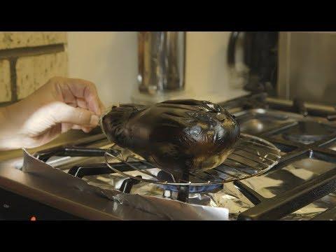 How to Make Baingan Bharta (Roasted Eggplant) - Jyoti's Indian Kitchen