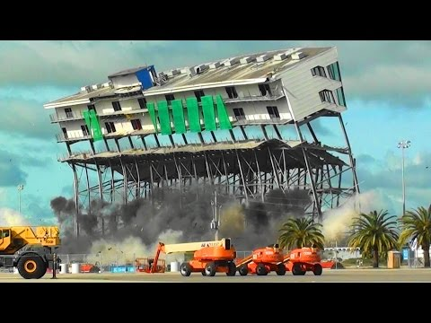 Daytona International Speedway Skybox - Controlled Demolition, Inc.